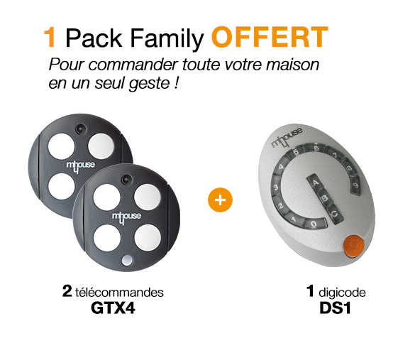 Offre Pack Family Mhouse